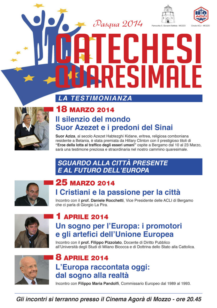 Locandina catechesi quaresimale 2014